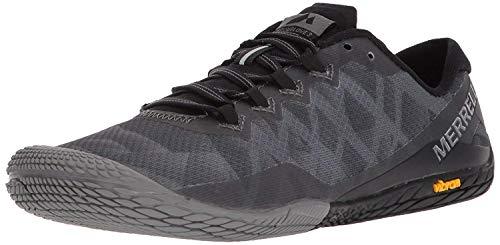 Merrell Women's Vapor Glove 3 Sneaker, Black/Silver, 10.5 M US