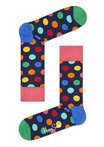 Happy Socks - Happy Socks Big Dot Sock BDO01-6001 - BDO01-6001 - Man Eur 41-46 - US 8-12 - UK 7,5-11,2 - JPN 26-29,5