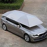 Burhetten Extra Large Oxford UV Tissu for Voiture Abri Soleil Parapluie Tente Toit Couverture 4.5 * 2.3M (Color : Grey)