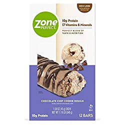 ZonePerfect Nutrition Snack Bars, Chocolate Chip Cookie Dough is another Protein Bar that we selected for 2019