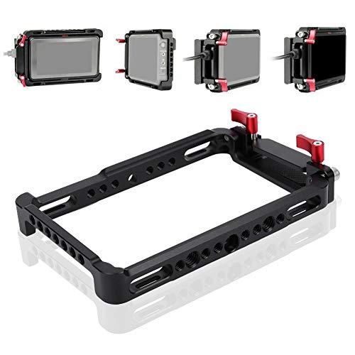 Beschermingscamera voor de auto, behuizing met U-rig-stabilisator met HDMI-kabelclip, met meervoudige 1/4/3/8 schroefgat voor Atomos Ninja V-monitor