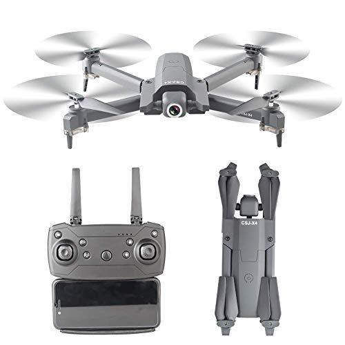 ZHCJH HUAXM Drohne mit Kamera 4K, WiFi FPV Optische Flusspositionierung Gestenfotografie Faltbare Quadcopter Altitude Hold Drohne