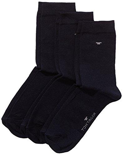 TOM TAILOR, Unisex - Kinder Socke 3 er Pack 9203, Gr. Blau (dark navy - 545 ), Gr. 31-34