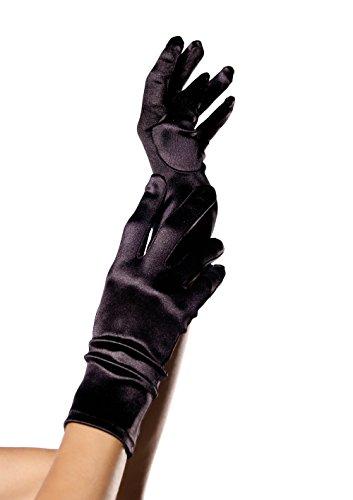 Leg Avenue Wrist Length Satin Handschuhe