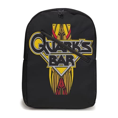 Quark's - Mochila de viaje para senderismo, mochila informal, resistente al agua, para escuela, escuela, para la escuela, senderismo, viajes, deporte