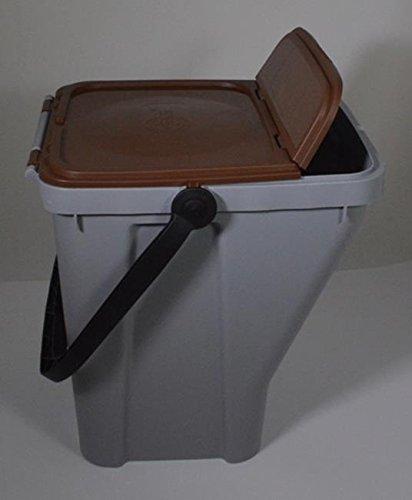 Vuilnisbak met een inhoud van 35 liter.