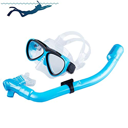 SDFHTYN Equipo Buceo niños Snorkeling Impermeable