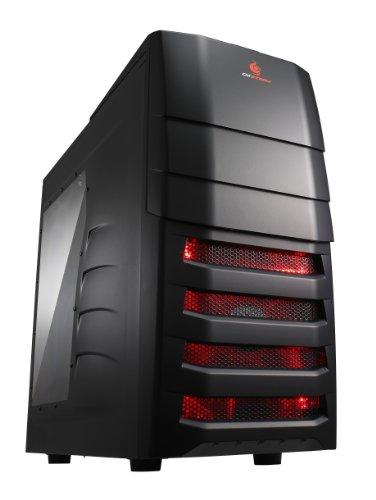 Cooler Master CM Storm Enforcer SGC-1000-KWN1 - Caja de Ordenador (Midi-Tower, PC, 1x 200 mm, ABS sintéticos, Acero, 1x 120 mm, ATX, Micro-ATX)