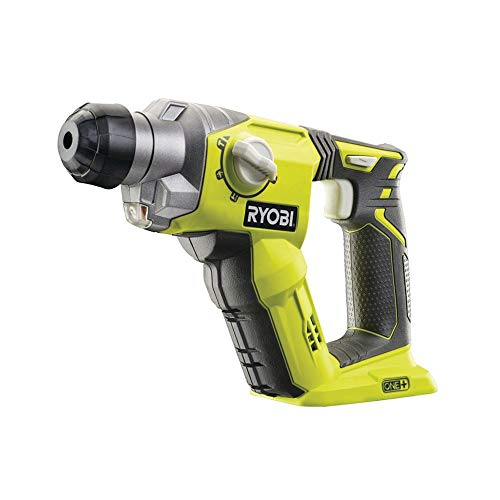 Ryobi R18SDS-0 - Martillo rotatorio (18V, 2,08 kg, Negro, Ve