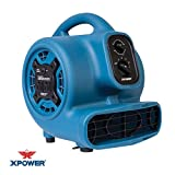 XPOWER P-230AT Mini Mighty Air Mover Utility Blower Fan with...