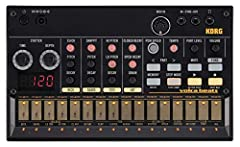 Electribe-style 16-step sequencer with eight memory patches Sync In and Out allows clock sync of multiple instruments from the Volca series Stutter for glitch or delay-like effects MIDI In for note entry, plus external sync and control from your DAW ...