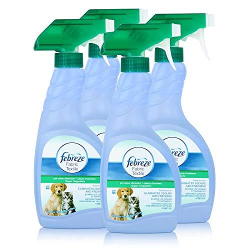Febreze Textilerfrischer gegen Tiergerüche, Pumpe - 500ml - 4x