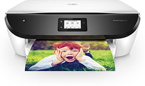 HP Envy Photo 6234 Imprimante Multifonction Jet d'encre Couleur (13 ppm, 4800 x 1200 ppp, WiFi, Impression Mobile, USB) - 7 mois d'Instant Ink Gratuits