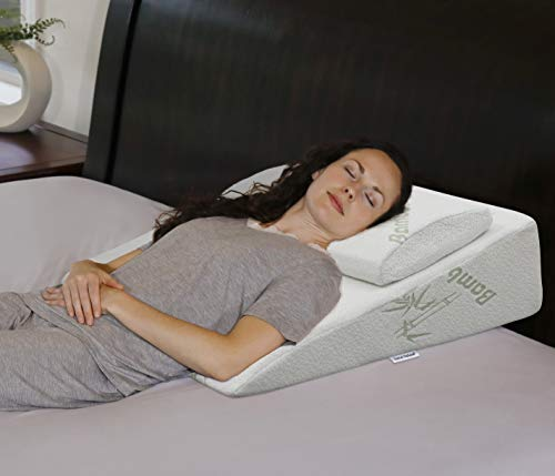 Best acid reflux wedge pillow for side sleepers