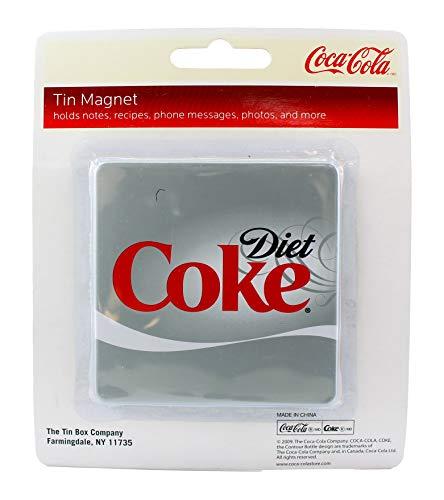 Coca-Cola Silver Square Diet Coke Koelkast Magneet