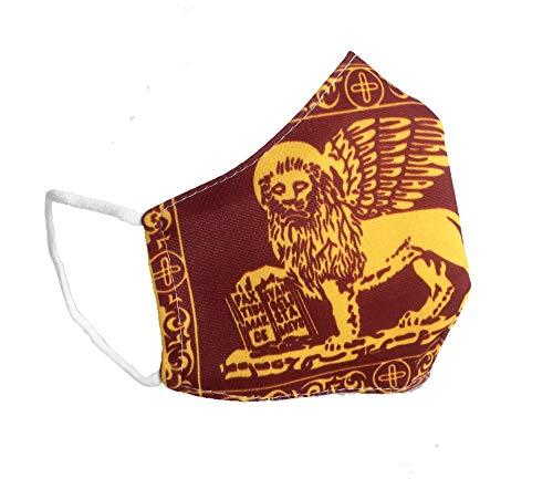 Pellicano Mascherina Veneta con leone di San Marco del Veneto e Venezia lavabile