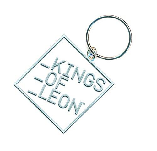 Kings of Leon Schlüsselring Keychain Block band Logo Nue offiziell metal