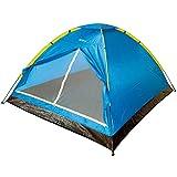 Aktive 52551 - Tienda campaña dome para 4 personas camping 210x240x130 cm