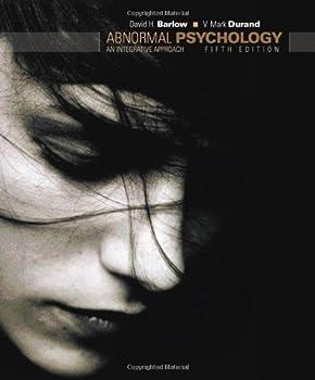 Hardcover Abnormal Psychology: An Integrative Approach Book