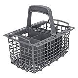 Europart 10036687 - Cestello per posate in plastica, adatto per lavastoviglie Indesit Ariston Hotpoint...