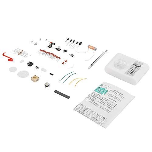 AM/FM CF210SP Radio Kit de bricolaje, Radio de doble banda Kit de bricolaje Montaje...