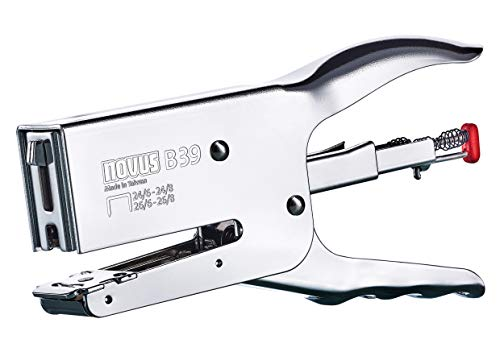 Novus B39, Grapadora de tenaza cromada