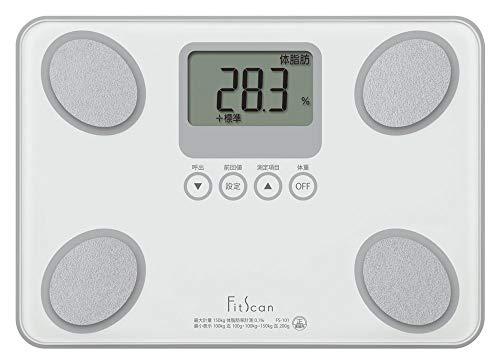タニタ 体組成計 フィットスキャン FS-101-WH(ホワイト) [並行輸入品]