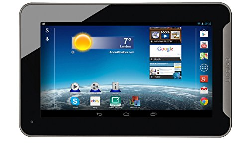 MEDION MD98439 Tablet ARM Cortex-A9 8 GB Schwarz - Tablets (17,8 cm (7 Zoll), 1024 x 600 Pixel, 8 GB, 1 GB, Android, Schwarz)