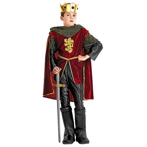 Königliches Ritter-Kostüm für Jungen 110/122 (5-7 Jahre)