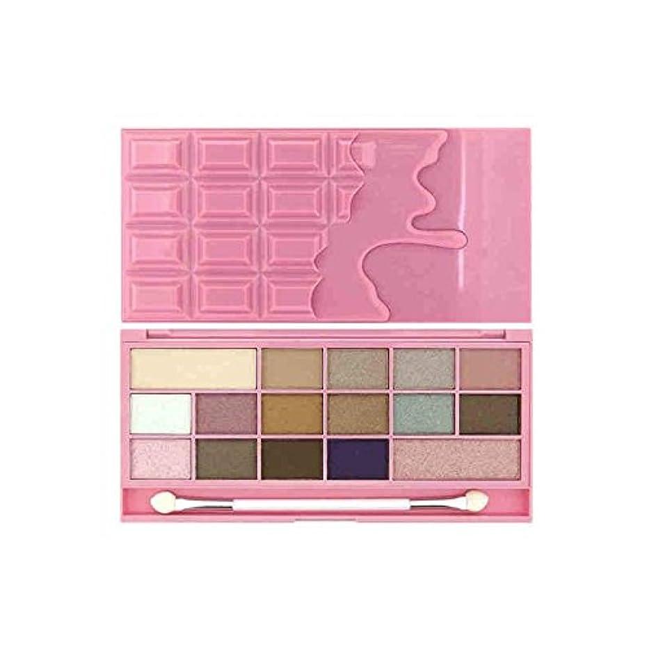 退院マエストロチキン私は心のチョコレートアイシャドウピンクのフィズ x4 - I Heart Chocolate Eye Shadow Pink Fizz (Pack of 4) [並行輸入品]