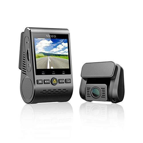 Dash CamCanal 5GHz Wi-Fi Full HD Car Dash Cámara Dual DVR con GPS Grabadora De Conducción