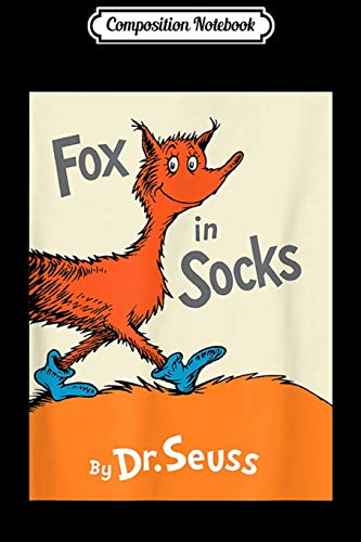 Composition Notebook: Fox in Socks Book Cover Journal/Notebook Blank Lined Ruled 6x9 100 Pages