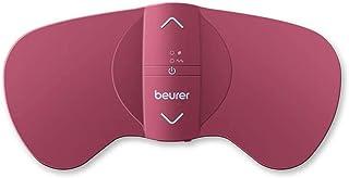 Beurer EM50 - Aparato para el alivio menstrual, electroestimulación Tens y función calor, alivio dolor menstrual y endometriosis, 15 niveles intensidad, color rosa