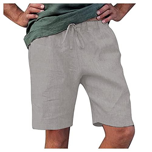 JUNGE Pantalon Pana Hombre, Pantalones Hippies Hombre, Bermudas Vaqueras Hombre, Bermudas Hombres, Pantalones...