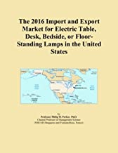 The 2016 Import and Export Market for Electric Table, Desk, Bedside, or Floor-Standing Lamps in the United States