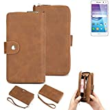K-S-Trade® 2in1 Mobile Phone Wallet Case For Huawei Y6