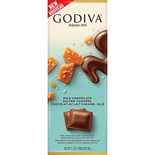 Godiva Milk Chocolate Salted Caramel 90g