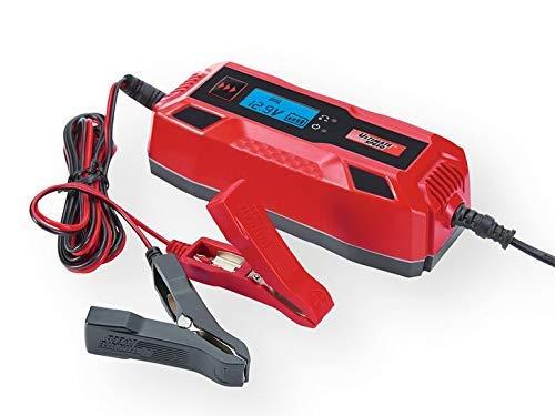 Cargador de Batería para Coches y Moto con 6V o 12V y Capacidad de 1,2-120 Ah