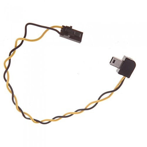 KINGZER USB 90 Degree Connector to AV Video Output Cable FPV for Gopro Hero 3