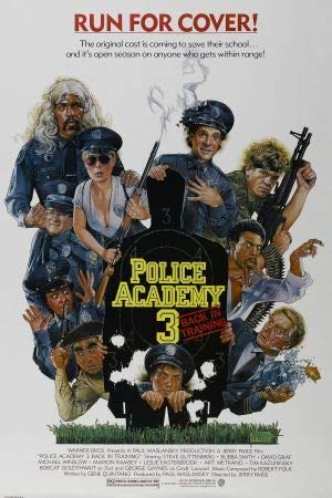 POLICE ACADEMY 3 – US – Imported Movie Wall Poster Print – 30CM X 43CM