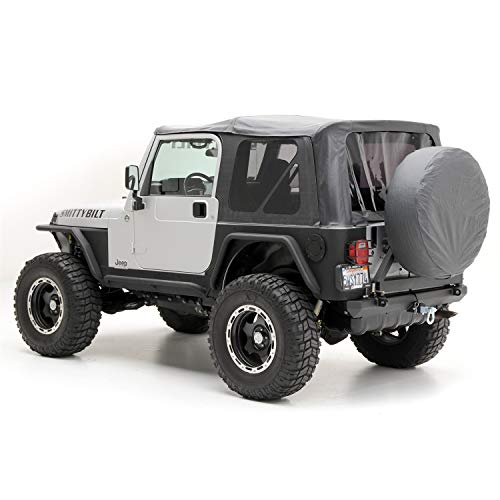Smittybilt Replacement Soft Top with Tinted...