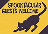 Spooktacular Guests Welcome: Guest Book For Halloween Or Event