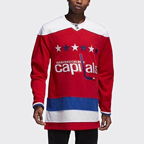 adidas Washington Capitals NHL Men's Climalite Authentic Alternate Hockey Jersey