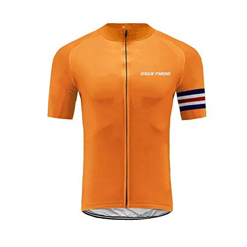 Uglyfrog Color de la Bandera con Camuflaje Ropa Ciclismo MTB, Maillot sin...