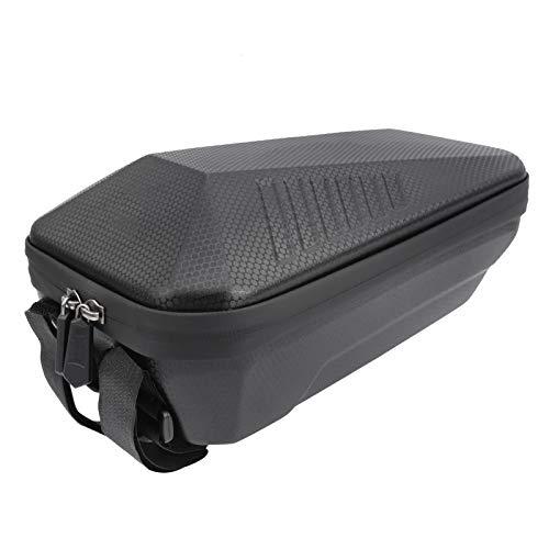 DAUERHAFT Bolsa de Malla incorporada Adherencia sin Costuras Almacenamiento de Scooter Bolsa de Manillar de Scooter para almacenar la mayoría de los artículos para Montar(X6PLUS-3L)
