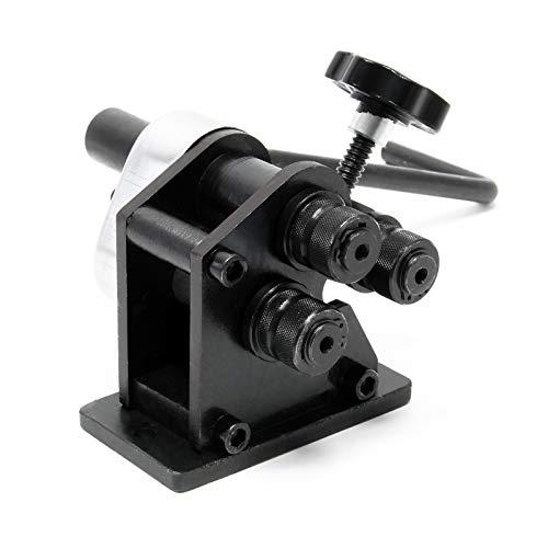 Máquina curvadora portátil radio 70mm Dispositivo perfilador manual Rodillos curvadores Perfilar