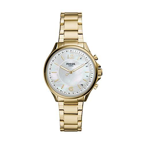 Fossil Hybrid Smartwatch Sadie Edelstahl Gold