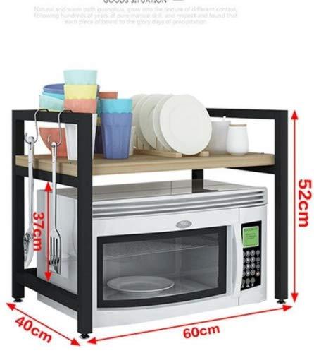 SQL Cuisine micro-ondes étagère 2 couches four vaisselle de cuisine , E