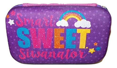 Jojo Siwa Smart Sweet Siwanator Pencil Case/Box Hard Top, Multicolor
