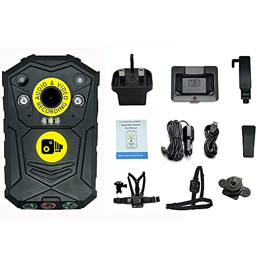 Defender 32GB Wearable Body Camera Bodycam and Accessories - Personal...
